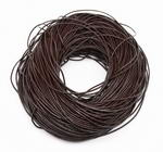 Dark brown leather cord discounted sale, sold per 10 feet, 2.0mm