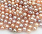 6-6.5mm pink or lavender freshwater loose pearls wholesale, AA+