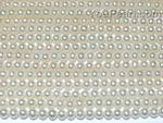 3-4mm white fresh water off round seed pearl strands wholesale, AA