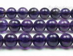 Amethyst quartz, 12mm round, natural gem stone beads wholesale