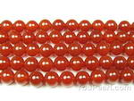 Carnelian, 6mm round, natural gemstone beads wholesale online