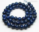 Lapis lazuli, 8mm round, natural gem beads for sale online
