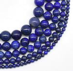 Lapis lazuli, 12mm round, dyed gemstone beads wholesale