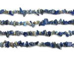 Lapis Lazuli, 5-7mm chip, natural gemstone beads. Sold per 36-inch