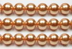 12mm round gold shell pearl for sale online
